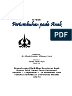 ANAK - Pertumbuhan pada Anak - Sarah Prima Ayu - dr Alinda R Wibowo,SpA.doc