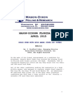 Mason Dixon poll of WH race 4.17.15