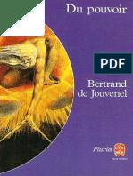 Du Pouvoir - Bertrand de Jouvenel