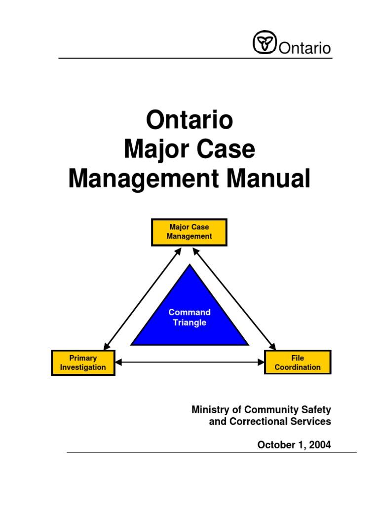 case management victimology forensic science rh es scribd com case management manuals for veterans case management manual for elderly