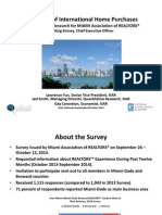 2014 Survey of International Home Purchases Miami 2015-04-20