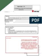 1.5 Primera Ley de Kirchhoff - Nodos