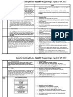 april 13-17 2015 weekly happenings