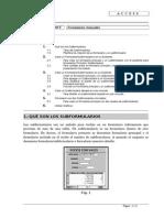 Access - Formularios Avanzados