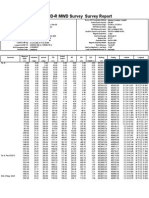 Pav153D-R MWD Survey Report