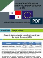 ADA - Acuerdo de Asociación Entre Centroamérica y La Unión Europea