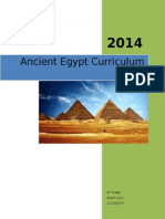 ancient egypt curriculum unit
