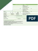 Formulario Deobservación Del Trabajo