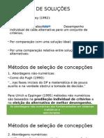 Avaliação de Soluções - Parte Rodrigo