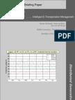 Intelligent E-Transportation Management