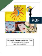 stategic communications plan portfolio