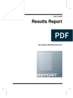Results Report