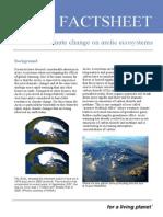 arctic ecosystems factsheet