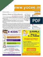 YOCee Newsletter Dec 09