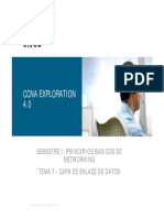 Tema 7 Capa de Enlace de Datos