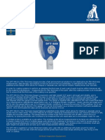 DFT440 Dry Coating Thickness Meter - High Res