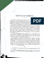 Que Es Un Tomista - Ramirez, Jacobus M., O.P