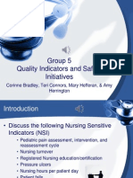 quality indicators & safety presentation