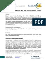 HVDC-Metrology-EURAMET
