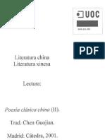 Poesía Clásica China 2 - Chen Guojian