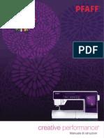 PFAFF Creative Performance Manual IT