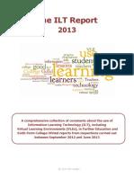 The ILT Report 2013