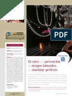 El circo y la prevención de riesgos laborales. Cirque du Soleil..pdf