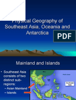 physical geography of se asia-oceania-antarctica