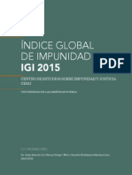 Índice Global de Impunidad 2015