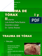 Trauma de Torax i y II