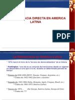 Democracia Directa en America Latina