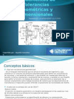 Fundamentos de Tolerancias Geométricas y Dimensionales