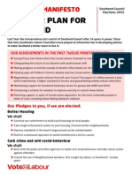 Southend Labour Party Local Election Manifesto 2015