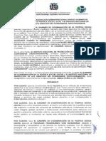 Convenio entre GCPS y Proconsumidor