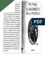 120732908 El Nacimiento de La Politica Finley Corregido