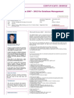 Microsoft Access 2007 - 2013 for Database Management - Arranged by Bdjobs-Training