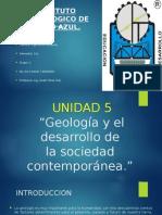 Unidad 5 Geologia