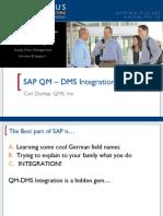 SAP QM DMS Integration