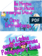 LA LUDICA COMO EXPERIENCIA PEDAGOGICA Y SOCIAL TUTORIA Borrador.pptx