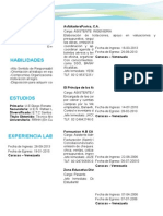 Curriculum Luz sadasGómez