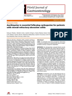 Azathioprine is Essential Following Cyclosporine for Patients With Steroid-refractory Ulcerative Colitis