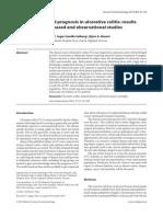 Clinical Course and Prognosis in Ulcerative Colitis