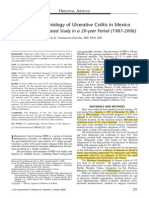 Ulcerative Colitis in Mexico INNSZ J Clin Gastroenterol 2009