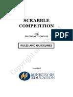Scrabble Secondary Schools Concept Paper 2015