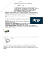 Elementos para instalar red domestico