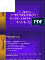 Análisis e Interpretación de Pruebas de Presión Transitoria