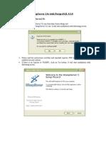 Installing WampServer2.0c With PostgreSQL