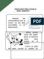 RECOMENDACIONES PARA CUIDAR EL MEDIO AMBIENTE.docx