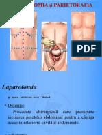 5. Laparotomie Și Parietorafie