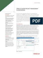 PPM Project Management Cloud Datasheet